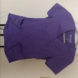 Purple Scrub Top